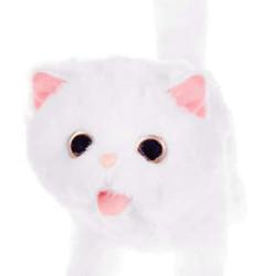 Rotaļlieta Interaktīvs balts kaķēns (11408)