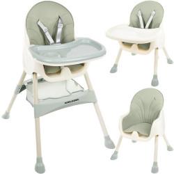 Kruzzel Barošanas krēsls 3in1 (12059)