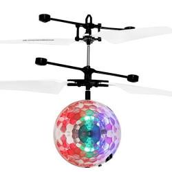 Lidojošā pārvaldamā LED disko-bumba (06241) Ir uz vietas!