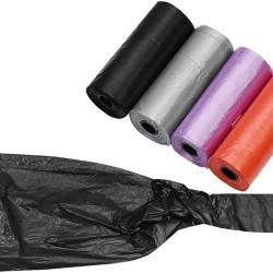 Ekskrementu maisiņu soma ar maisiņiem 60gab. (6681) Ir uz vietas!