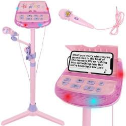 Bērnu karaoke komplekts ar mikrofonu (11472) Ir uz vietas!!!