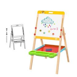 Tooky Toy Divpusēja zīmēšanas tāfele (2072)