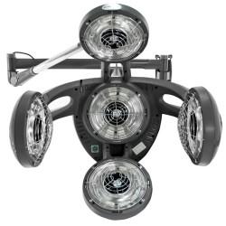 Gabbiano Infrazone Hanging GD-505W Grey