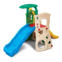 Divu līmeņu rotaļu laukums ar slidkalniņiem Jungle Grow'n Up