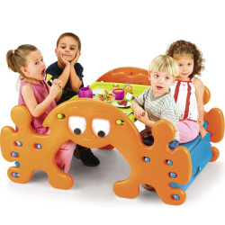 Feber 2in1 piknika galds / šūpoles