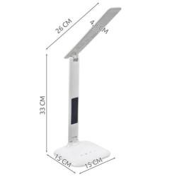 LED Galda Lampa ar meteoroloģisko staciju (7964)