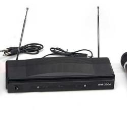 Karaoke Station Set + 2 Wireless Microphones