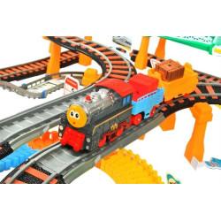 Bērnu dzelzceļš /Autoceļš 2in1 XXL (2902)