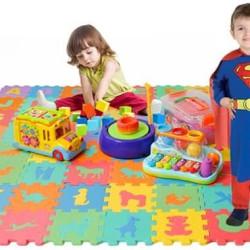 Grīdas puzle paklājs 72 gab. (4495)