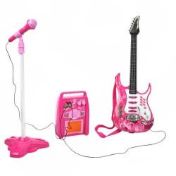 Elektriskā ģitāra + pastiprinātājs + mikrofons (4709)