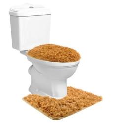 3 mīksto vannas paklāju komplekts (8313)