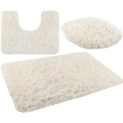 3 mīksto vannas paklāju komplekts (8314)