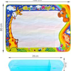 Liels ūdens krāsošanas paklājs 100x80cm (08487)