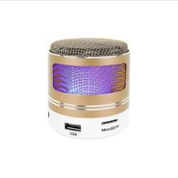 Portatīvais Bluetooth skaļrunis MP3 FM Gold (9097)