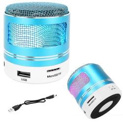 Portatīvais Bluetooth skaļrunis MP3 FM Blue (9100)