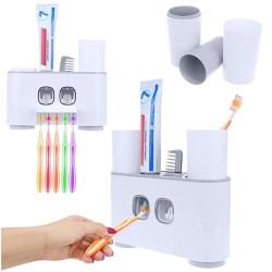 Automatiskais zobu pastas dozātors un zobu birstu turētājs (9178)