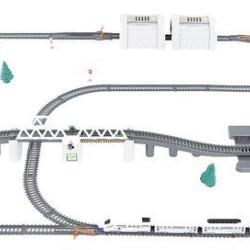 Bērnu dzelzceļš 9m (09448)