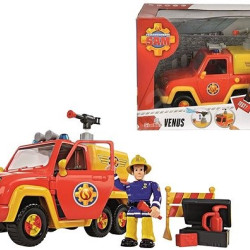 Simba Fireman Sam Fire Truck Action Figure