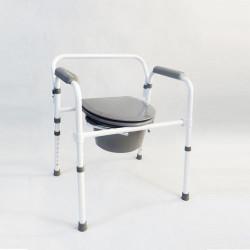 Tualetes krēsls invalīdiem un veciem cilvēkiem Timago TGR-R KT 618 Ir uz vietas!!!