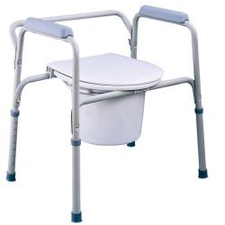 Tualetes krēsls invalīdiem un veciem cilvēkiem Timago TGR-R KT-S 668