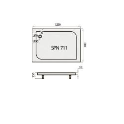 SPN PT-711K 80x120