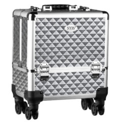 Kosmētikas koferis SA8365 Silver