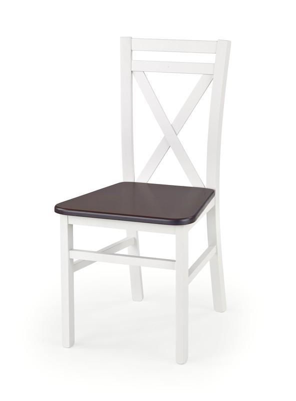 Koka krēsls Halmar Dariusz 2 White/Nut