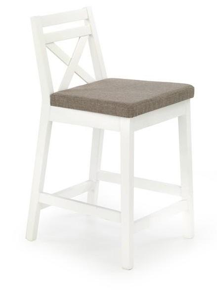 Bāra krēsls Halmar Borys Low White