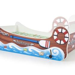 Bērnu gulta Halmar Boat