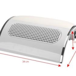 Manikīra putekļu savācējs Wind 585 White
