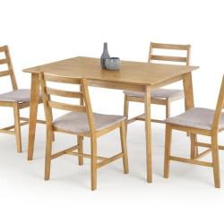 Komplekts Halmar Cordoba (Galds + 4 krēsli)
