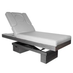 Apsildāms kosmētikas krēsls Azzurro Wood 815B