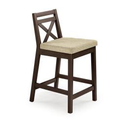 Bāra krēsls Halmar Borys Low Walnut