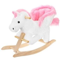 Koka Šupuļzirgs White-Pink