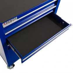 Metāla instrumentu stends 4+1 Blue