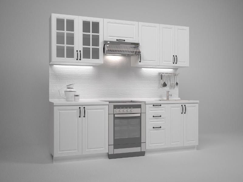 Virtuves komplekts Halmar Michella 240 White