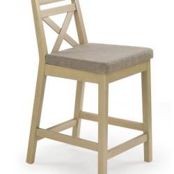 Bāra krēsls Halmar Borys Low Oak