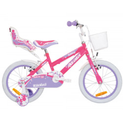 """Ballerina 16"""" (III) Roza 0115222915 velosipēds"""