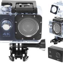 4K Sports Camera Webcam Waterproof WiFi SD32GB 9101