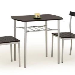 Komplekts Halmar Lance Wenge (Galds + 2 krēsli)