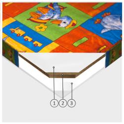 Bērnu matracis Tino 120x200