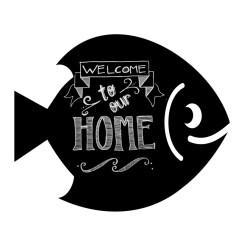 Krīta magneta delis Fish