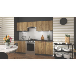 Virtuves komplekts Halmar Daria 240cm Oak