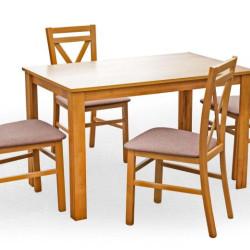 Komplekts Halmar Kentucky (Galds + 4 krēsli)