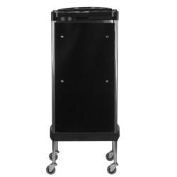 Friziera ratiņi Gabbiano FX11-A Black