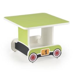 Bērnu galds Halmar Lokomo Green