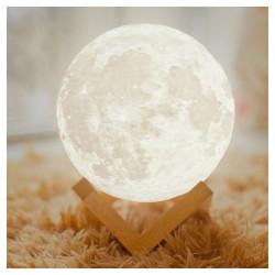 LED lampa Mēness M