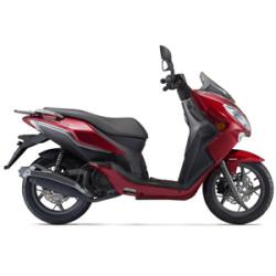 CityBlade 125 EFI E4 Red Motorolleris