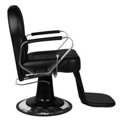 Friziera klientu krēsls Gabbiano Tiziano Black