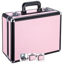 Kosmētikas koferis Glamour 9500K Pink